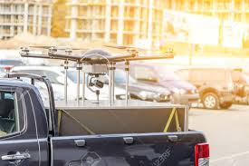 Big Custom Made Drone Over Picup Truck Trunk. Heavy UAV Hexacopter ... 39 X 13 Alinum Pickup Truck Trunk Bed Tool Box Underbody Trailer Gator Gtourtrk453012 45x30 With Dividers Idjnow Mictuning Upgraded 41x30 Cargo Net Auto Rear Organizer Heavy Duty Stretchable Universal Adjustable Elastic Accsories Car Collapsible Toys Food Storage 2 Pcs Graphics Sticker Decal For 2017 Ford 30 18 Rivian R1t The Electric With A Front That Does 0 To 60 Fresh Creative Industries At22 Documentaries Change 2013 Gmc Sierra 1500 Hybrid Price Photos Reviews Features Glam Cemetery Or Treat Pinterest