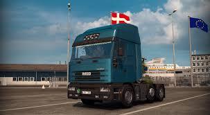 100 Iveco Trucks Usa IVECO EUROSTAR V25 UPDATE 128X TRUCK MOD Euro Truck Simulator