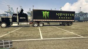 Monster Energy Truck And Trailer - GTA5-Mods.com