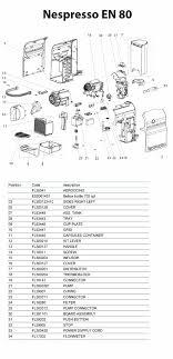 Nespresso Parts Diagram