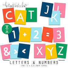 LETTERS NUMBERS The Family Storyteller