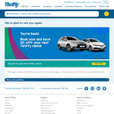 100 Thrifty Truck Rentals 10 Off Your Next Car Rental At Selected Locations OzBargain