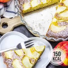 kalorienarmer apfelkuchen fettarm und saftig