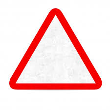 Warning Triangle Vectors s and PSD files