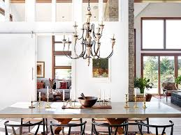 Modern Rustic Dining Space Coupled With Scandinavian Elements From Elena Del Bucchia DESIGN