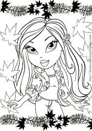 Bratz Coloring Pages For Girls