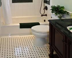amazing black and white bathroom floor tile black and white vinyl