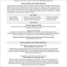 10 Sample Resumes For Medical Billing Resume Samples