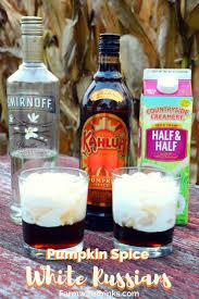 Kahlua Pumpkin Spice Martini by Pumpkin Spice White Russian The Farmwife Drinks