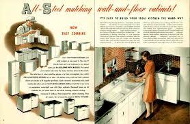 Vintage Metal Kitchen Cabinets by Vintage 1941 Montgomery Ward Metal Kitchen Cabinets Retro Renovation