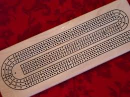 Picture Of CNC Cribbage Board