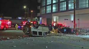 100 Truck Driving Schools In Los Angeles Driver Survives MercedesBenz GWagen SUV Crashing Off 3rd Floor Of
