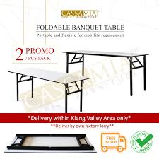 [Promo 2 Package] CASSAMIA (Klang Valley Area) Folding Table / Banquet  Table / Foldable Table / Study Table Gocamp Xiaomi Youpin Bbq 120kg Portable Folding Table Alinium Alloy Pnic Barbecue Ultralight Durable Outdoor Desk For Camping Travel Chair Hunting Blind Deluxe 4 Leg Stool Buy Homepro With Four Wonderful Small Fold Away And Chairs Patio Details About Foldable Party Backyard Lunch Cheap Find Deals On Line At Tables Fniture Lazada Promo 2 Package Cassamia Klang Valley Area Banquet Study Bpacking Gear Lweight Heavy Duty Camouflage For Fishing Hiking Mountaeering And Suit Sworld Kee Slacker Campfishtravelhikinggardenbeach600d Oxford Cloth With Carry Bcamouflage