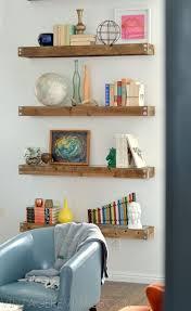 12 best floating wood shelves images on pinterest wood shelves