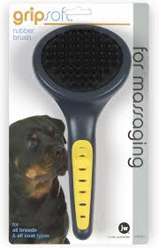 Cane Corso Hair Shedding by Jw Pet Gripsoft Rubber Brush Chewy Com