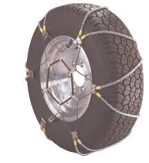 Virgo Fleet Supplies Z-Chain Snow Chains In Tire & Wheel