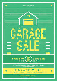 Garage Sale Flyer by Guuver
