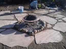 Diy Pea Gravel Patio Ideas by Building A Flagstone Patio Mind Your Dirt