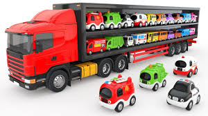 Colors For Children To Learn With Truck Transporter Toy Street ... Electric Toy Truck Not Lossing Wiring Diagram Hess Trucks Classic Toys Hagerty Articles Monster Jam Videos Factory Garbage For Kids Youtube Monster Truck Kids Toy Big Video For Children Amazoncom Yellow Red Blue With School Bus Fire To Learn Garbage In Mud Shopkins Season 3 Scoops Ice Cream Mini Clip Disney Elsa