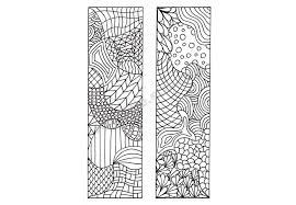 Printable Bookmarks To Color DIY Zendoodle