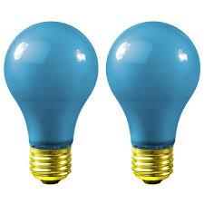 40 watt blue a19 light bulb