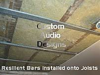 Resilient Channel Ceiling Weight by Resilient Bars Resilient Channels Rbar