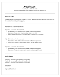 ResumeRecruiters Hate The Functional Resume Format Blog Template Example Structure Examples Layout Examp Sample