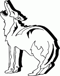 Coyote Desert Animals Coloring Pages