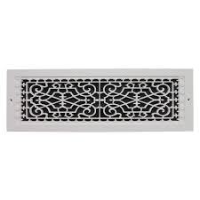 Decorative Wall Air Return Grilles by Smi Ventilation Products Victorian Wall Mount 6 In X 22 In