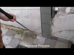 tile cleaning with a pressure washer