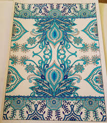 Creative Haven Mehndi Designs Collection Coloring Book By Dover Marty Noble