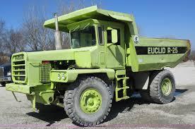 100 Euclid Truck R25 Haul Truck Item F8383 SOLD April 16 Construc