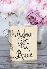 Shabby Chic Wedding Decor Pinterest by Bridal Shower Guest Advice Book Shabby Chic Wedding Decor 34 99