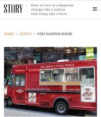 100 Eddies Pizza Truck The Photos New York New York Menu Prices