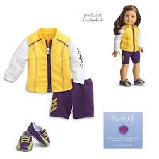 Amazoncom American Girl My American Girl Cycling Outfit Toys