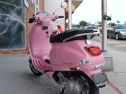 NEW PINK VESPA LX 50 SCOOTER SPECIAL EDITION FLORIDA USA
