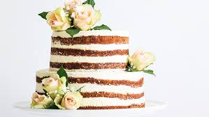 Rustic Cakes Many Bakers Are Holding Back Frosting From Wedding For An Exposed Look That Is Popular With Couples Looking A Traditional