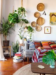 wohnzimmer mit deko im boho stil kelim kissen mustermix