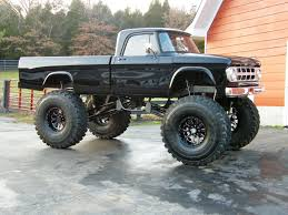 Not A Dodge Ram But An Older Classic Lifted Truck