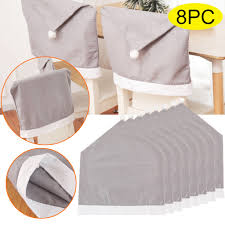 US $6.6 36% OFF 8PC Christmas Decoration Chair Covers Grey Dining Seat  Santa Claus Home Party Decor Cartoon Man Snowman Party Stool Set Decor On  ... Christmas Decoration Chair Covers Ding Seat Sleapcovers Tree Home Party Decor Couch Slip Wedding Table Linens From Waxiaofeng806 542 Details About Stretch Spandex Slipcover Room Banquet Dcor Cover Universal Space Makeover 2 Pc In 2019 Garden Slipcovers Whosale Black White For Hotel Linen Sofa Seater Protector Washable Tulle Ideas Chair Ab Crew Fabric For Restaurant Usehigh Backpurple