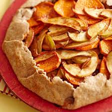 Rustic Apple Sweet Potato Tart