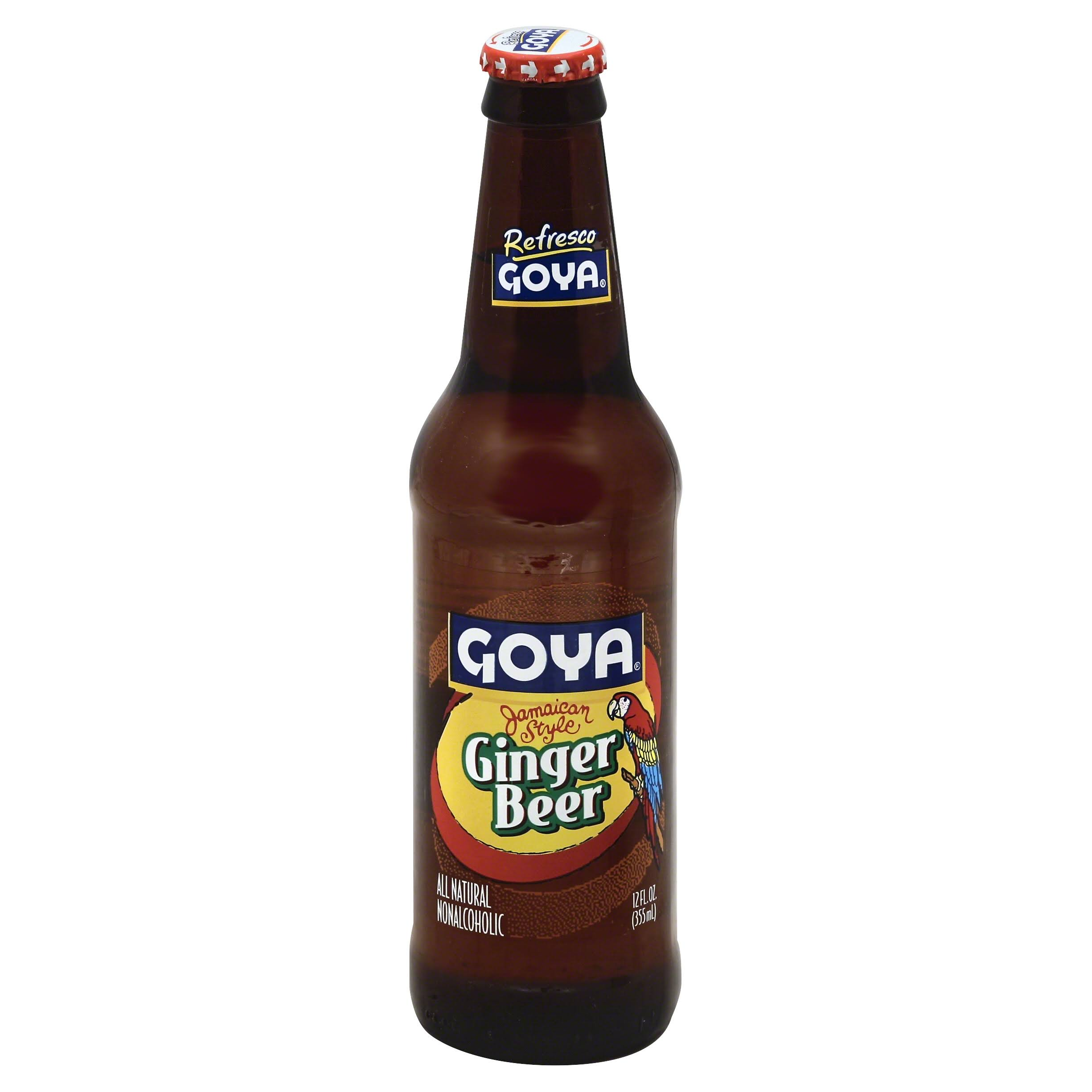 Goya Ginger Beer Soda - 12oz