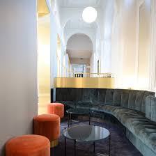 100 Paris By Design Softroom Uses Luxury Materials To Create Decadent Eurostar Lounge In