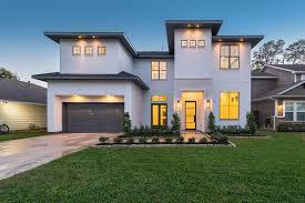 100 Modern Stucco House HoustonHomebuilderCustomHomeMediterranean