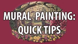 Most Famous Mural Artists by Mural Painting Quick Tips Youtube