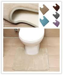 möbel wohnen anti slip u förmige badematten vorleger
