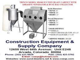 trinco master model 48bp suction cabinet