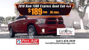 February Is Ram Truck Month At Port Jeff Chrysler Jeep Dodge Ram ... Panic At The Dealership On Ram Trucks Youtube New 1500 Specials 2500 Truck Special Pricing Louie Herron Cdjr In Madison Ga Commercial Program Used Perry Ny Mcclurg Cdj Ram Month Mike Riehls Roseville Mi Chrysler Jeep Dodge Vehicles Rebates Best 2018 Test Drive Any Truck And Get A Visa Yet By Jacky Jones Smoky