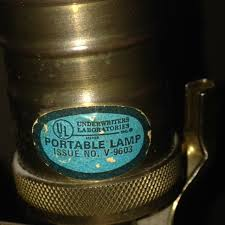 i have an underwriters laboratories l issue no v 9603 with a