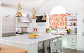 Floral Kitchen Curtains Orange The Beauty of Floral Kitchen